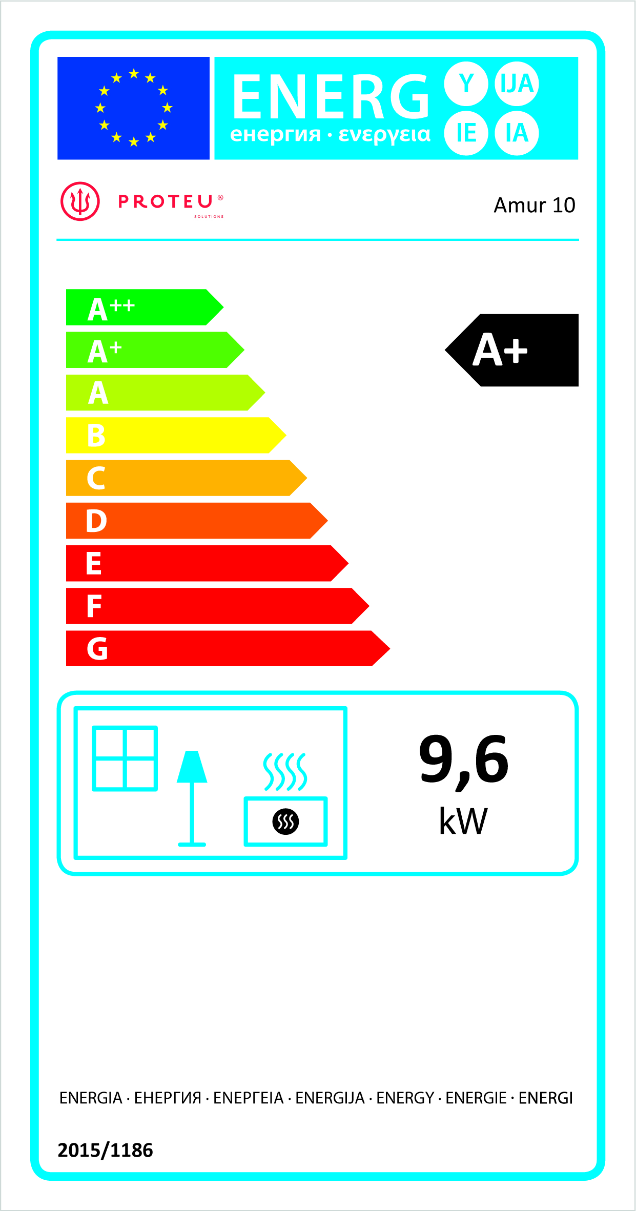 Etiqueta Energética Amur 10