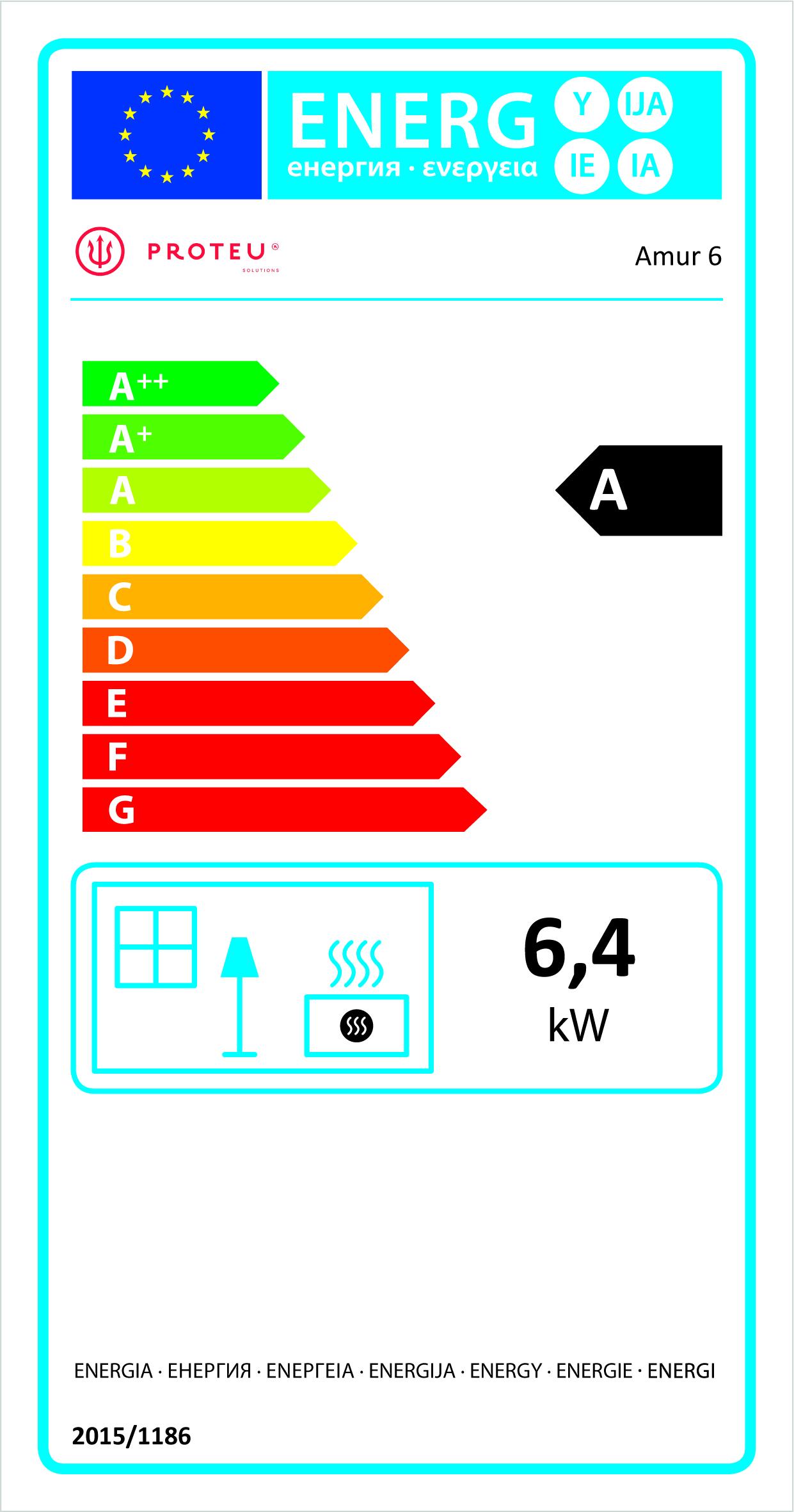 Etiqueta Energética Amur 6